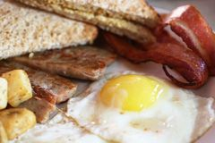 Free Bacon And Eggs Stock Photo - 2487530