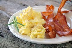 Free Bacon And Eggs Stock Image - 5883651