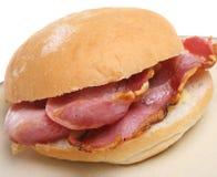 Bacon Bap Stock Foto's