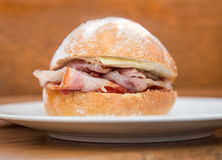 Bacon bap Stock Images
