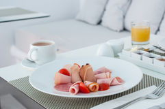 Bacon breakfast Stock Image