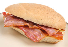 Bacon Breakfast Roll Stock Photography