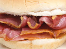 Bacon Breakfast Roll Sandwich Stock Images