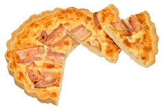 Bacon And Cheese Quiche Stock Image