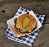 Bacon Cheeseburger Royalty Free Stock Image