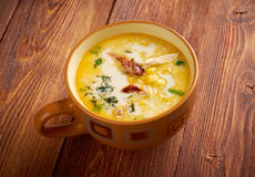 Bacon Chili Corn Chowder stock foto