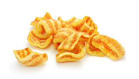 Bacon chips Royalty Free Stock Images