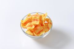 Bacon chips Stock Images