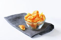 Bacon chips Stock Photography
