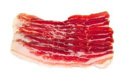 Bacon curado imagem de stock royalty free