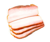 Bacon cut slice Stock Images