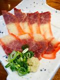 Bacon da baleia imagem de stock