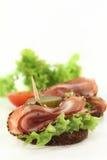Bacon do mit do Canape imagem de stock