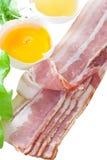 Bacon e ovo fotografia de stock royalty free