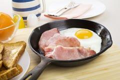 Bacon e ovo Fotos de Stock