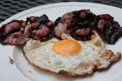 Bacon e ovos Fotografia de Stock