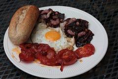 Bacon e ovos Imagem de Stock Royalty Free