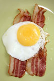 Bacon e ovos Imagens de Stock