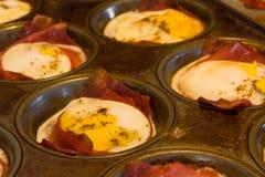 Bacon e ovos Foto de Stock Royalty Free