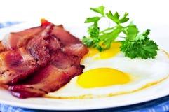 Bacon e ovos Imagens de Stock Royalty Free