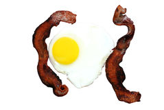Bacon and Egg Stock Photo