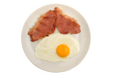 Bacon and egg Royalty Free Stock Images