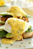 Bacon And Egg Benedict Royalty Free Stock Photography