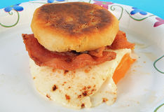 Bacon Egg Biscuit Stock Images