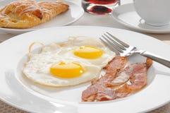 Bacon and egg breakfast Royalty Free Stock Photo
