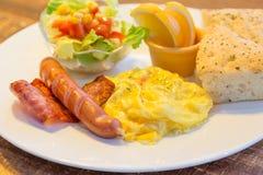 Bacon and egg breakfast Stock Photos