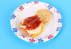 Bacon and Egg Sandwich Stock Photography