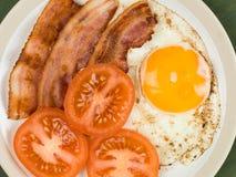 Bacon Egg and Tomato Breakfast Food Royalty Free Stock Photos