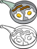 Bacon and Eggs Royalty Free Stock Images