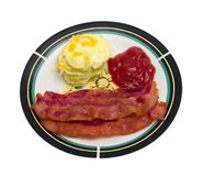 Bacon and Eggs Royalty Free Stock Image