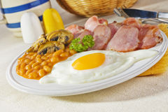 Bacon and Eggs Breakfast Stock Photo