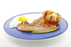 Bacon, Eggs and Tomato Stock Photography