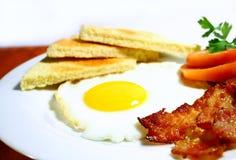 Bacon en eieren Royalty-vrije Stock Fotografie