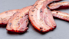 Bacon, food of the gods Stock Image