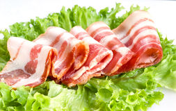 Bacon fresco fotografia stock