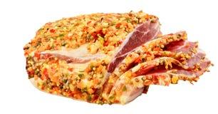 Bacon fumado Imagem de Stock