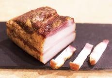 Bacon fumado fotos de stock royalty free