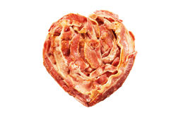 Bacon Heart Royalty Free Stock Images