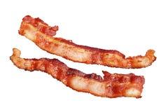 Bacon isolado Imagens de Stock