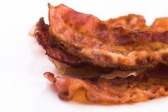 bacon lagad mat tecknad isometrisk lineart för handillustrationen skissar remsor Arkivfoton