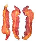 bacon lagade mat remsor Royaltyfria Bilder