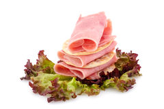 Bacon with lettuce Royalty Free Stock Photo