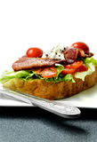 Bacon And Lettuce Sandwich Royalty Free Stock Photo