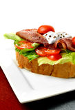 Bacon And Lettuce Sandwich 2 Stock Image