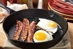 Bacon och ägg Royaltyfri Foto