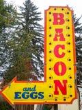 Bacon och ägg Royaltyfri Fotografi